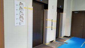 20170827②エレベーター前